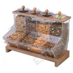 Δοχείο δημητριακών και οργάνωσης μπουφέ