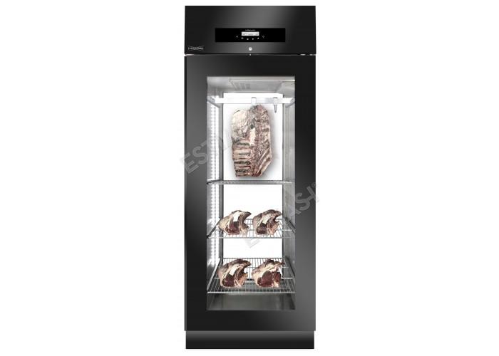 Ψυγείο ωρίμανσης EVERLASTING MEAT 700 BLACK PANORAMA ΜΕ 2 Χρόνια ΕΓΓΥΗΣΗ