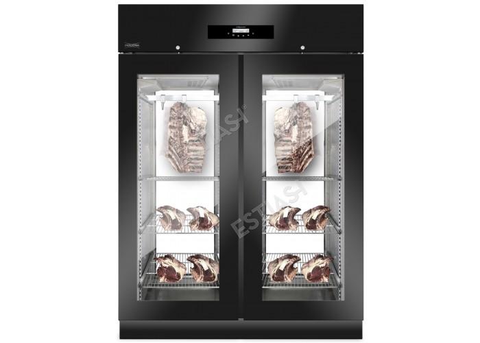 Ψυγείο ωρίμανσης EVERLASTING MEAT 1500 BLACK PANORAMA ΜΕ 2 Χρόνια ΕΓΓΥΗΣΗ