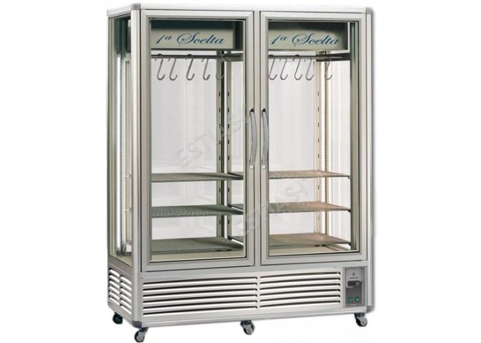 Βιτρίνα κρεάτων με 2 πόρτες φυσικής κυκλοφορίας Meat 1151 TECFRIGO