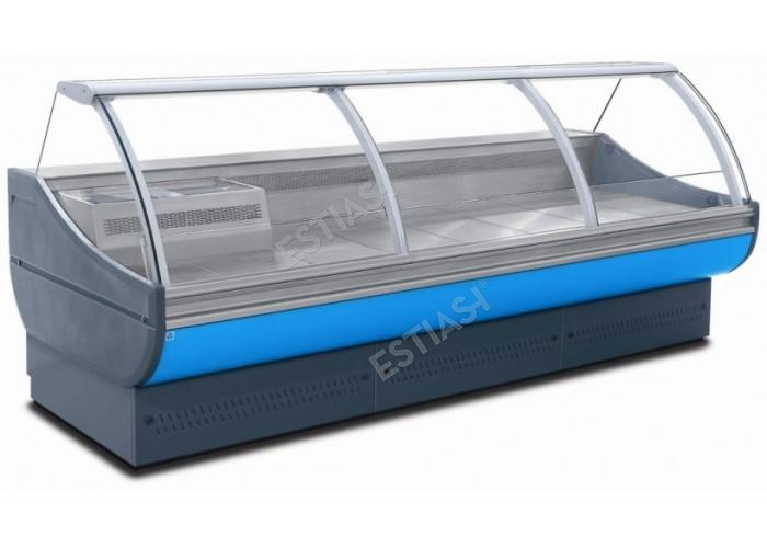 Επαγγελματικό ψυγείο κρεάτων-αλλαντικών 257εκ χωρίς μηχάνημα