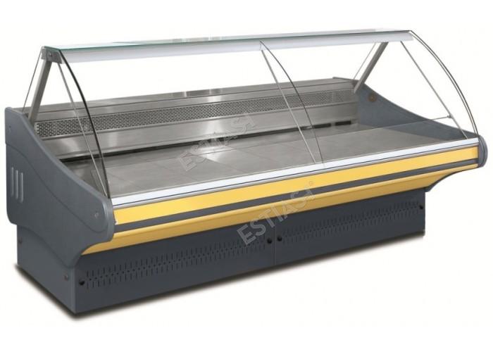 Επαγγελματικό ψυγείο κρεάτων-αλλαντικών 103εκ χωρίς μηχάνημα