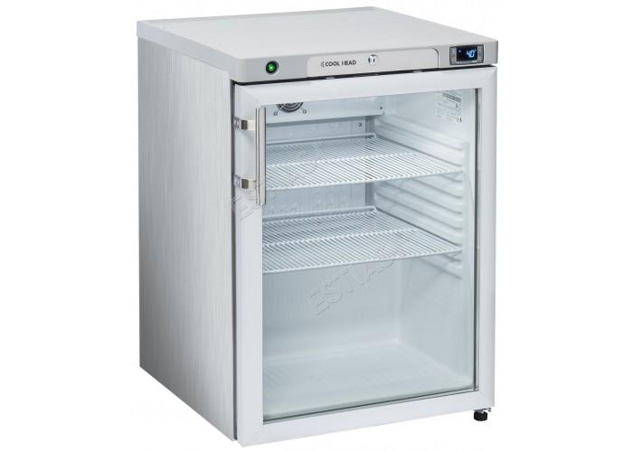Ψυγείο inox βιτρίνα μίνι 60εκ COOL HEAD