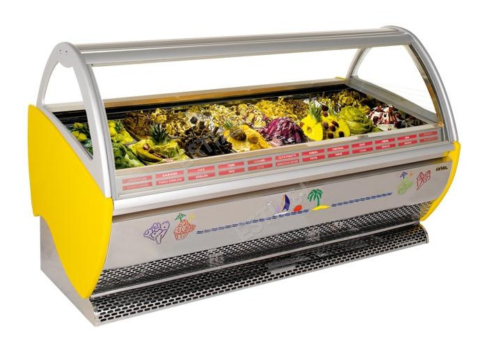 Ψυγείο παγωτού SEVEL για 18 θέσεις