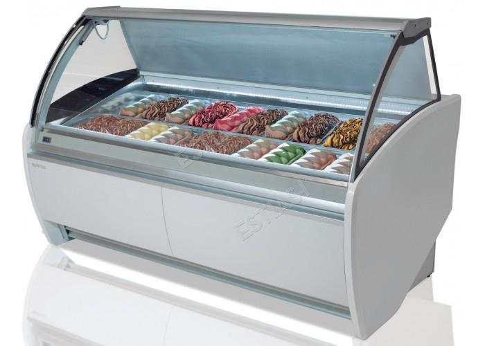 Ψυγείο βιτρίνα παγωτού 14 θέσεων VAR12H INFRICO