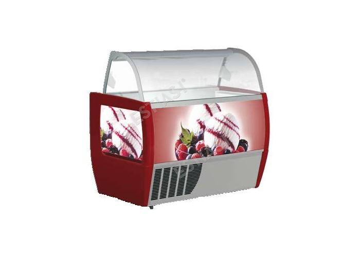 Ψυγείο παγωτού για 10 θέσεις FRAMEC