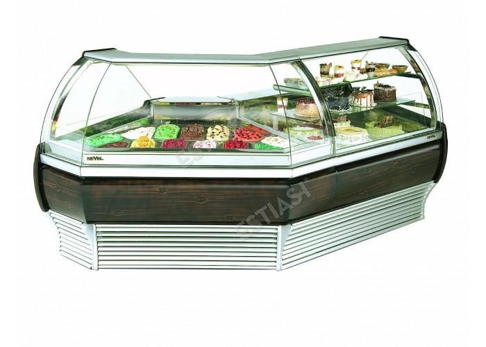 Ψυγείο παγωτού γωνία SEVEL για 13 θέσεις