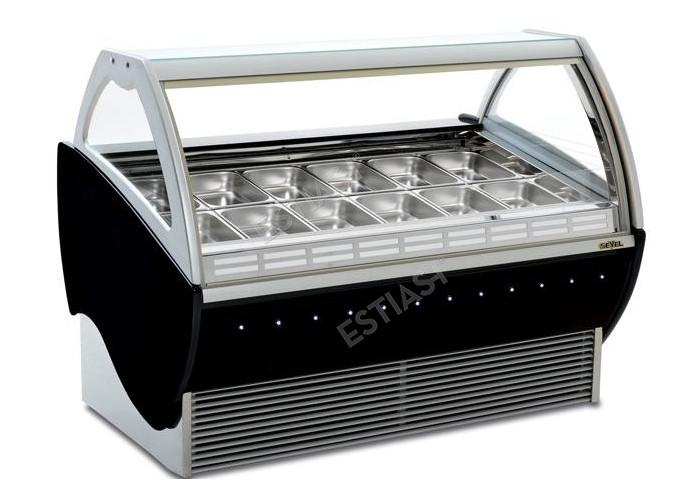 Ψυγείο παγωτού SEVEL για 12 θέσεις