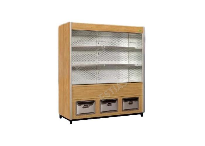 Πλάτη ψυγείο με ψυχόμενη αποθήκη 181εκ