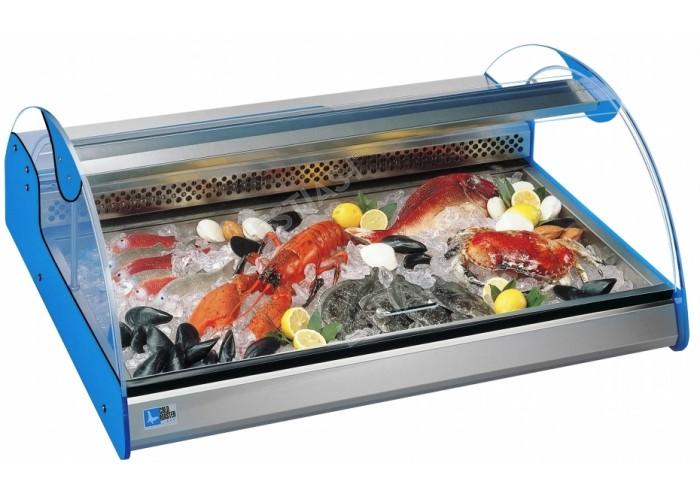 Ψυγείο βιτρίνα ψαριών 137εκ AZZURRA 4 COLDMASTER