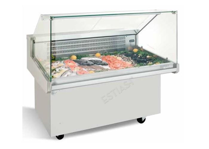 Ψυγείο προβολής ψαριών 134εκ VRP INFRICO
