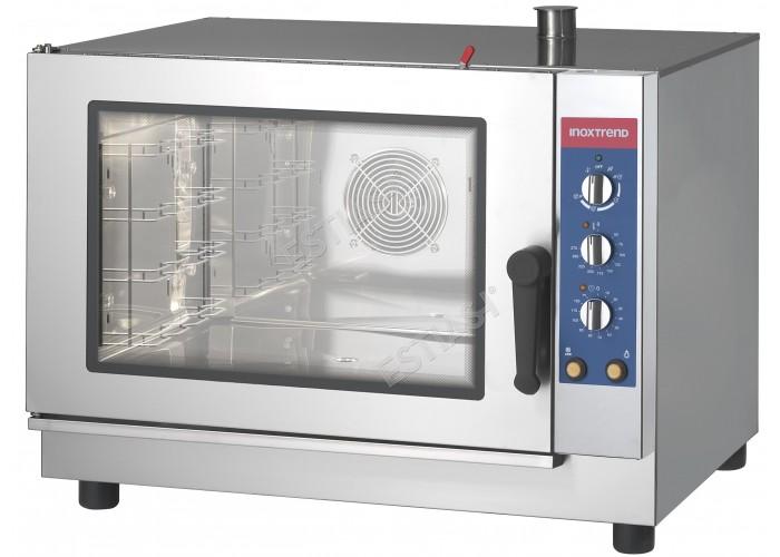 Επαγγελματικός φούρνος αερίου 5 θέσεων CW 005G INOXTREND