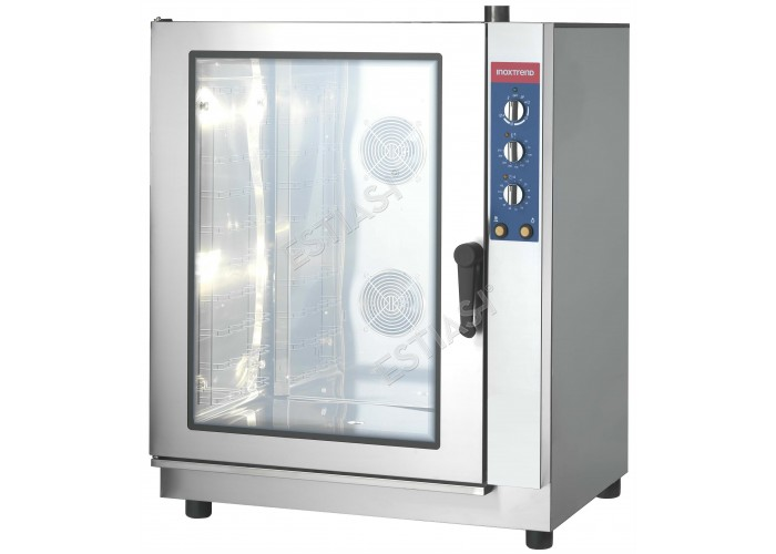 Επαγγελματικός φούρνος ηλεκτρικός 12 θέσεων CW 012E INOXTREND