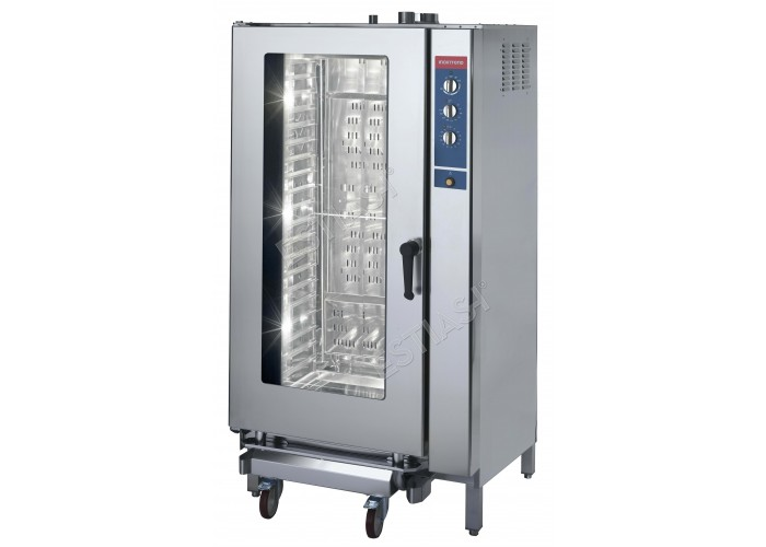 Επαγγελματικός φούρνος αερίου για 20 GN 1/1 CW INOXTREND
