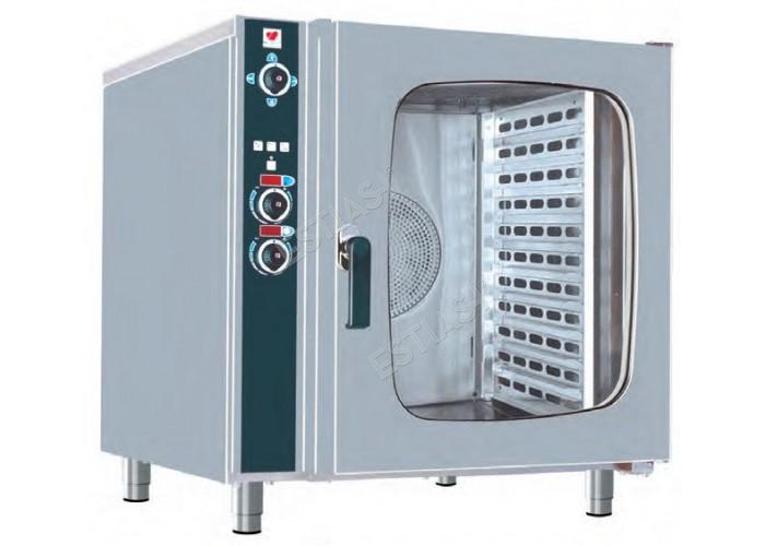 Ηλεκτρικός επαγγελματικός φούρνος ατμού 6 θέσεων NORTH FCN60