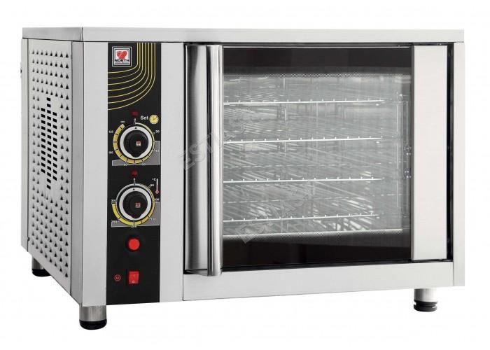 Ηλεκτρικός επαγγελματικός φούρνος 4 θέσεων NORTH FD62