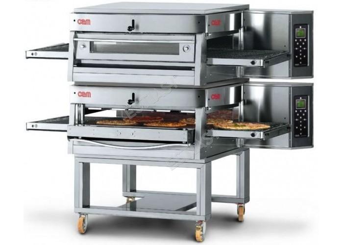 Επαγγελματικός ηλεκτρικός φούρνος πίτσας τούνελ OEM για 120 πίτσες