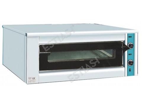 Επαγγελματικός ηλεκτρικός φούρνος για 9 πίτσες Κ120 SERGAS