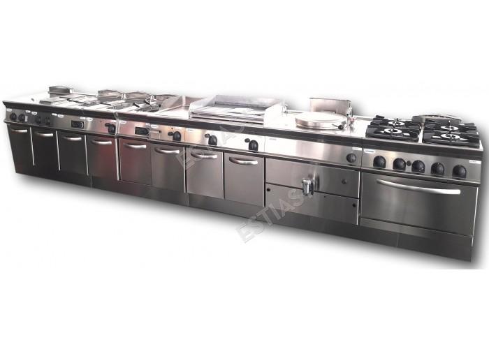 Set κουζίνα TECNOINOX 74