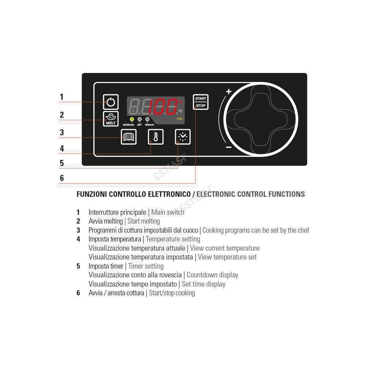 Φριτέζα ηλεκτρονική FRD43FE7 TECNOINOX