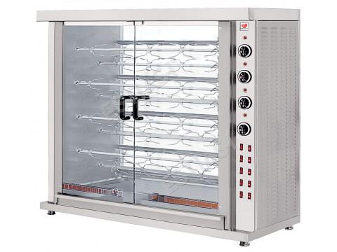 Κοτοπουλιέρα ηλεκτρική με 9 σούβλες NORTH HK9