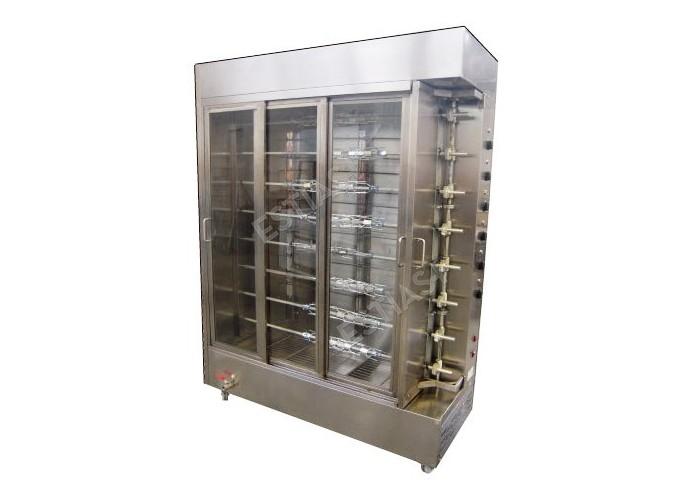 Επαγγελματική ηλεκτρική ψησταριά-αρνιέρα με 8 σούβλες