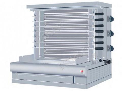 Επαγγελματική ψησταριά ηλεκτρική με 7 σούβλες NORTH HKB7