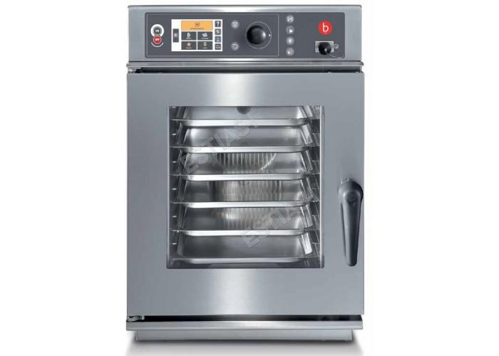 Επαγγελματικός ηλεκτρικός φούρνος Combi 6 θέσεων Baron BACEV061X