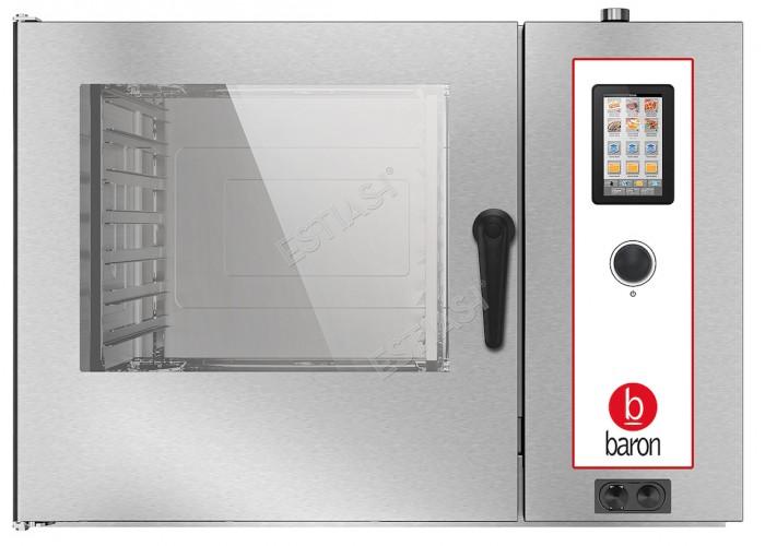 Επαγγελματικός ηλεκτρικός φούρνος Combi 14 θέσεων Baron OPBET072 με μπόιλερ