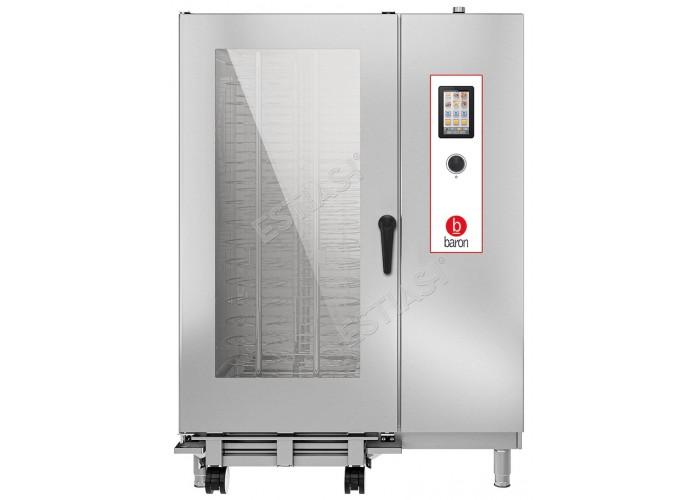 Επαγγελματικός ηλεκτρικός φούρνος Combi 40 θέσεων Baron OPVET202
