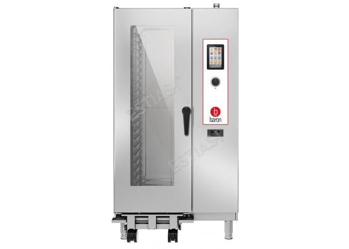 Επαγγελματικός ηλεκτρικός φούρνος Combi 20 θέσεων Baron OPVET201
