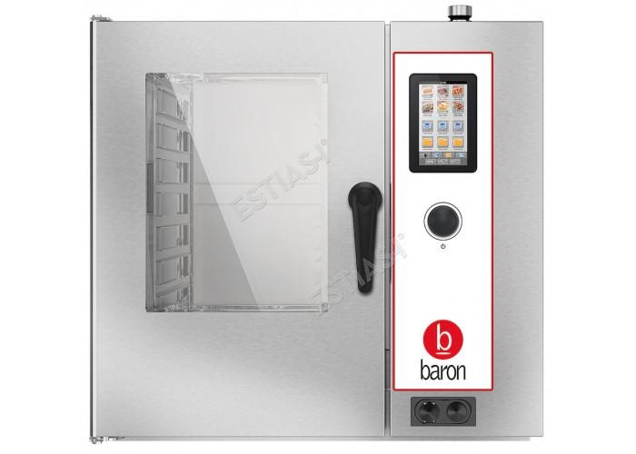 Επαγγελματικός ηλεκτρικός φούρνος Combi 7 θέσεων Baron OPVET071