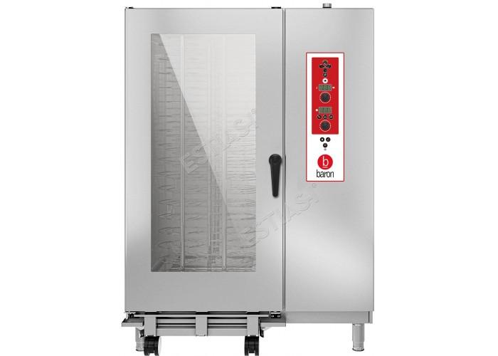 Επαγγελματικός φούρνος Combi ηλεκτρικός Baron BSEV202R