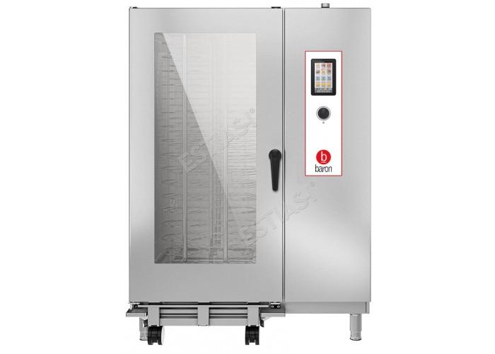 Επαγγελματικός φούρνος Combi αερίου 40 θέσεων Baron OPVGT202